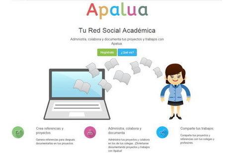 Apalua, red social académica para crear, gestionar y compartir referencias web   Educacion, ecologia y TIC   Scoop.it