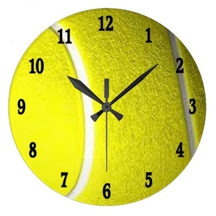 Tennis Ball Sport Wall Clock | Tenis | Scoop.it