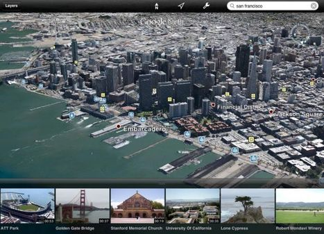 Google Earth for iPad, iPhone gets 3D cities and guided tours | Digital Trends | What's New For School | Scoop.it