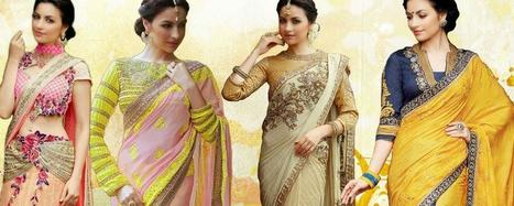 Wedding sarees online shoppin | Buy Women's Clothing Online in Affordable rate | Scoop.it