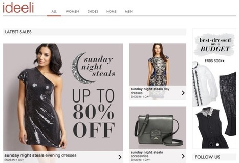 Groupon Moves Into Flash Fashion, Buys Ideeli For $43M In Cash   TechCrunch   smart phone   Scoop.it