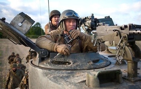 Watch: First Footage From Brad Pitt's WWII Tank Movie 'Fury,' Plus New Photos - Indie Wire (blog) | Machinimania | Scoop.it