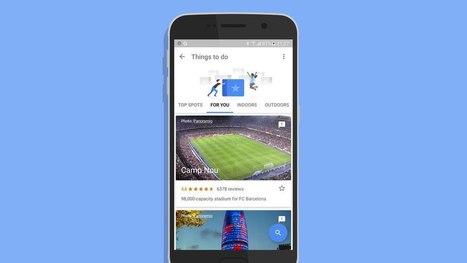 A sneak peek at Google's upcoming travel app,Trips | Technology | Scoop.it