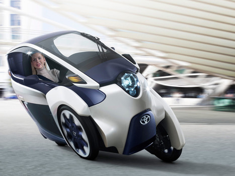 Toyota's i-Road is very weird, very fun, and unlike anything I've ever driven   Diseño para la manufactura   Scoop.it