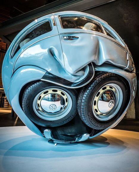 Des voitures compressées en sphères parfaites | SCULPTURES | Scoop.it