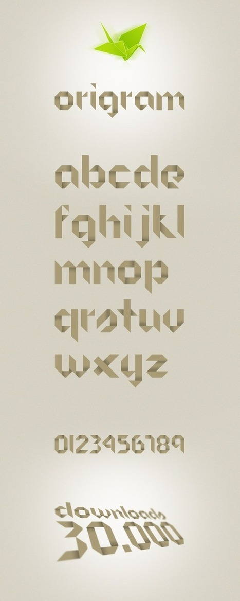 Origram Free Font - Free Fonts - Fribly | Webdesign & Graphics | Scoop.it