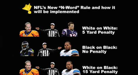 The New NFL N-Word Rule | N-Word in America (not Paris) | Scoop.it
