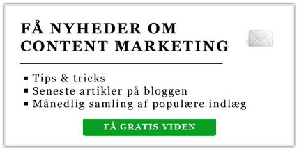 Hvad er Content Marketing - og hvorfor skal du til at tænke på indhold? | wup thoughts | Scoop.it