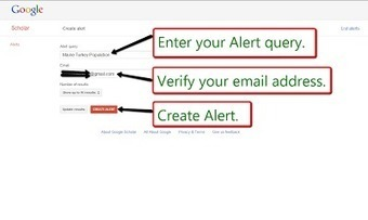 Free Technology for Teachers: How to Create Google Scholar Alerts | veillepédagogique | Scoop.it