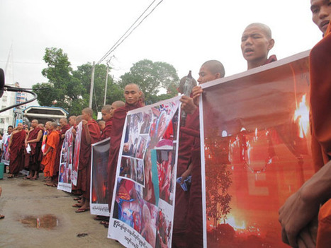 Copper Mine Solidarity Protests Spread | The Irrawaddy Magazine | travel with us | Scoop.it
