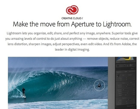 Adobe Releases Guide for Moving from Aperture to Lightroom | Design, Photography & Social Media | Scoop.it