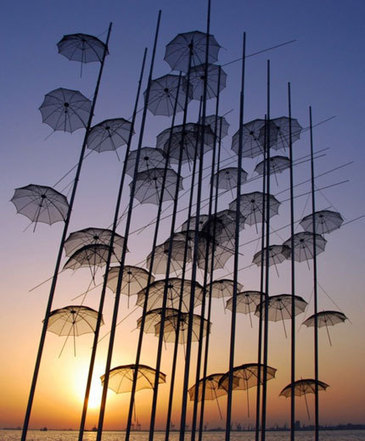 George Zongolopoulos: Umbrellas | Art Installations, Sculpture | Scoop.it