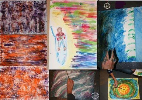 dipinte al laboratorio di pittura emozionale &quot;la visione della tua vita&quot;-<br/><br/>per... | Arte Benessere Crescita | Scoop.it