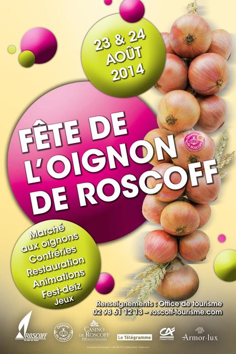 Fête de l'Oignon de Roscoff 2014 : le programme !   Oignon de Roscoff  Oignon de Roscoff   AOP   Scoop.it