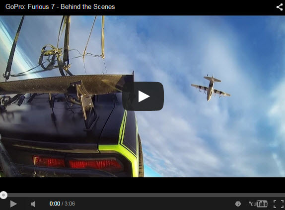 GoPro Goes Behind the Scenes of Furious 7