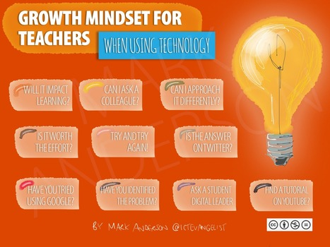 Growth mindset for teachers - Mark Anderson @ICTEvangelist | iPads, MakerEd and More  in Education | Scoop.it