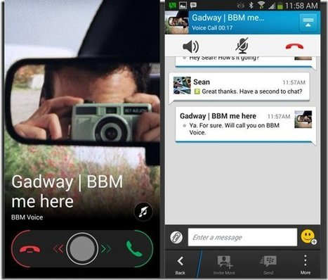 BlackBerry Shares Upcoming BBM Features for 2014! (BlackBerry, iOS, & Android)   Black Berry   Scoop.it