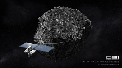 Deep Space Industries plans robotic fleet to mine asteroids | How will robotics change lives in the near future | Scoop.it