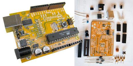 freeduino_plus_parts The state of open source hardware 2008 ... | Digital Fabrication, Open Source Hardzware, DIY, DIWO | Scoop.it