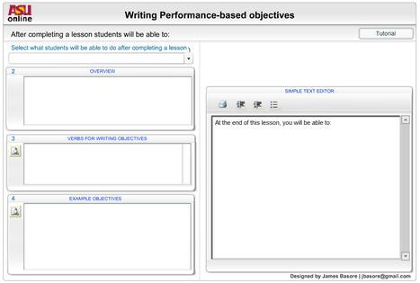 Instructional Objectives Builder | Aprendiendo a Distancia | Scoop.it