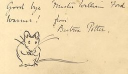 Paws for thoughts: Beatrix Potter letter to young fan shares Peter Rabbit plans | Reading discovery | Scoop.it