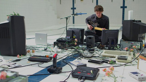 Polybius: James Houston Makes Music with Old Technology Including a SEGA Mega Drive, a Commodore 64, and Floppy Drives | Colossal | Inspiration | Scoop.it