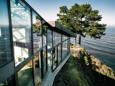Buck Creek House Merges with the Treacherous Cliffs of Southern California's Big Sur | The Blog's Revue by OlivierSC | Scoop.it