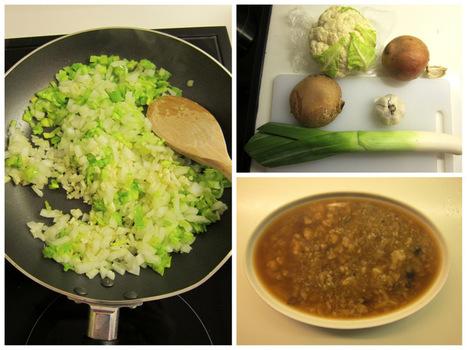 Recipe: Vegan Mushroom and Cauliflower Soup | Vegan Eats | Scoop.it