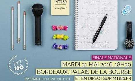 Finale nationale de «Ma thèse en 180 secondes» le 31 mai à Bordeaux | Variétés entomologiques | Scoop.it