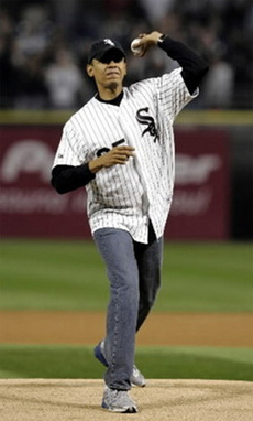 Obama v. W: Who Throws Like a Girl?