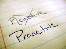 Be Proactive and stop being reactive - Wendy Cooley, LMSW   Market and self improvement   Scoop.it