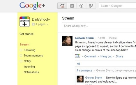 G+ page indicator: Are you now Page or Profile? Chrome ext. | GooglePlus Expertise | Scoop.it