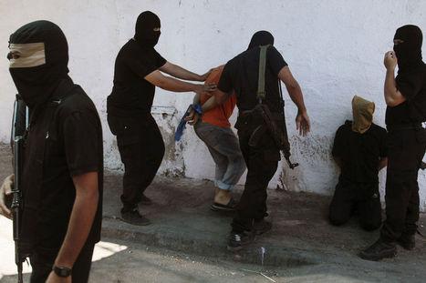 Palestijnse militanten executeren 18 'collaborateurs' | News | Scoop.it