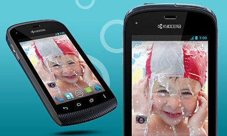 Water Proof Android ICS Phone by Kyocera Hydro (Sprint Mobiles) | Android Mobile Phones, Latest Updates on Android, Applications & Techonology | Scoop.it