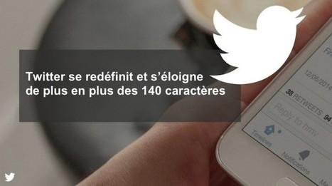 Twitter se redéfinit et s'éloigne de plus en plus des 140 caractères | Sphère des Médias Sociaux | Scoop.it