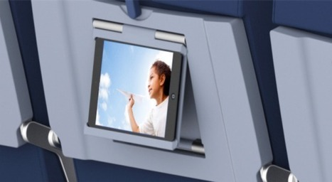 Seatback digital billboards: Airline trays are about to get a tech-heavy makeover | Transportation industry | Scoop.it