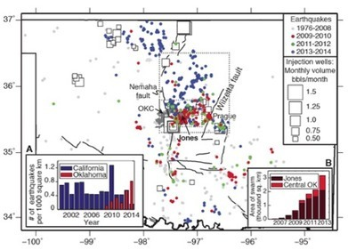 Oklahoma earthquakes linked to fracking wastewater wells, study says | Sustainable Futures | Scoop.it