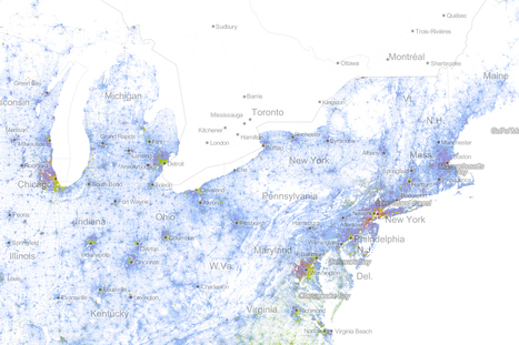 Ethnic/Population Density Map | Thinking Geographically | Scoop.it
