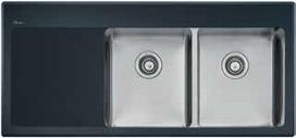 Oliveri Sinks - Buy Oliveri Vetro Right Hand Bowl Sink SG072 at $2,396.33 Online | Custom Made Kitchens Renovation & Designs | Scoop.it