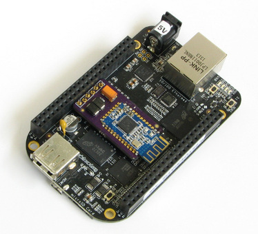 New Wireless Bluetooth console for BeagleBone Black - Robot Square | 2014 | Scoop.it