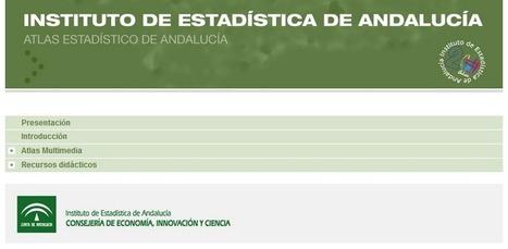 IECA / Junta de Andalucía » Atlas de Andalucía: económicos, del territorio y estadísticos. | Sevilla Capital Económica | Scoop.it