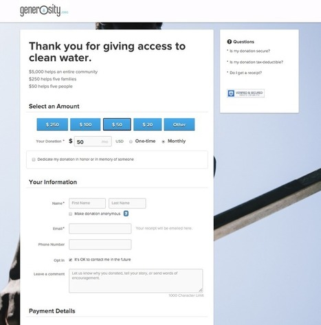 How to Get Site Visitors to Commit to Their Donation | digitalNow | Scoop.it