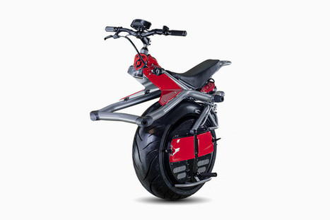 One-Wheeled Electric Motorcycle | Stuff | Scoop.it