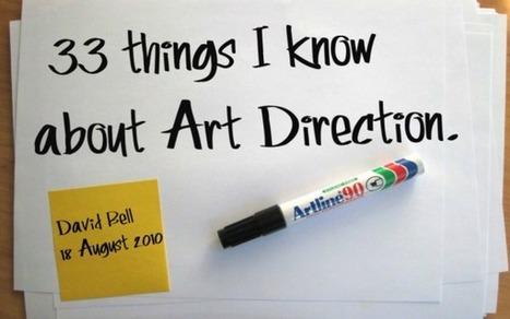 33 things I know about Art Direction | Estética | Scoop.it