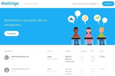 Duolingo lanza sitio para aprender inglés en el aula | Educación y Cultura : Revista AZ | Educacion Tecnologia | Scoop.it
