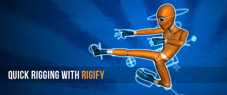 Quick Rigging With the Rigify Addon | blenderStuff | Scoop.it