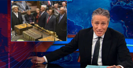 Jon Stewart Contrasts British Gay Marriage Debate With US | Gov & Law Constitutions and U.S. House of Representatives | Scoop.it