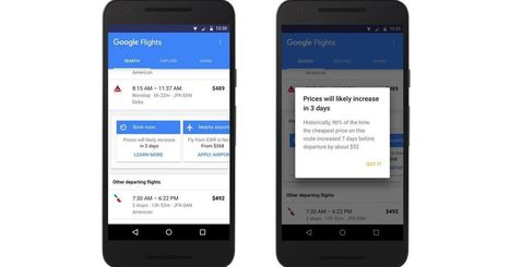 Google Flights adds price-tracking notifications | Tools You Can Use | Scoop.it