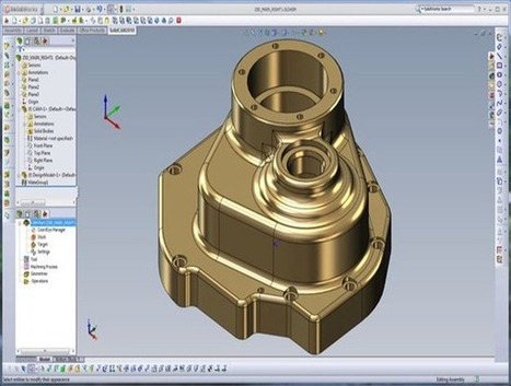 SolidWorks SolidCAM | SolidWorks CAD/CAM software | SolidCAM CNC-Software | 3-D Product Design & SolidWorks vendor in Singapore | Scoop.it