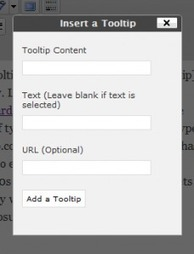 Ajouter des Tooltips dans vos articles | WordPress France | Scoop.it